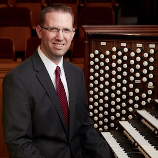 Brian Mathias Tabernacle Organist