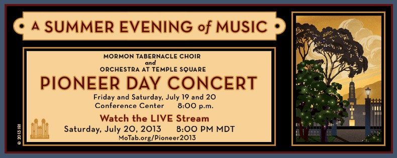 2013 Pioneer Day Concert with Lindsey Stirling & Nathan Pacheco