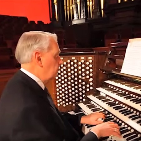 Clay Christiansen's Final Solo as Tabernacle Organist