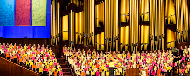 Colorful Young Women's Choir