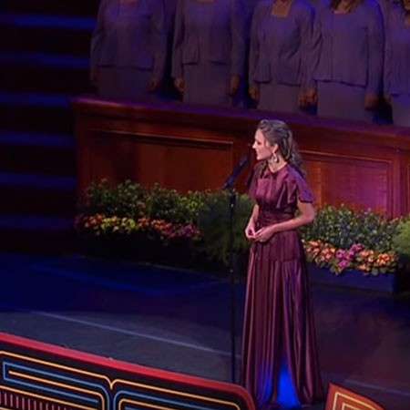 "Laura Osnes and the Mormon Tabernacle Choir Sing ""Climb Ev'ry Mountain"""