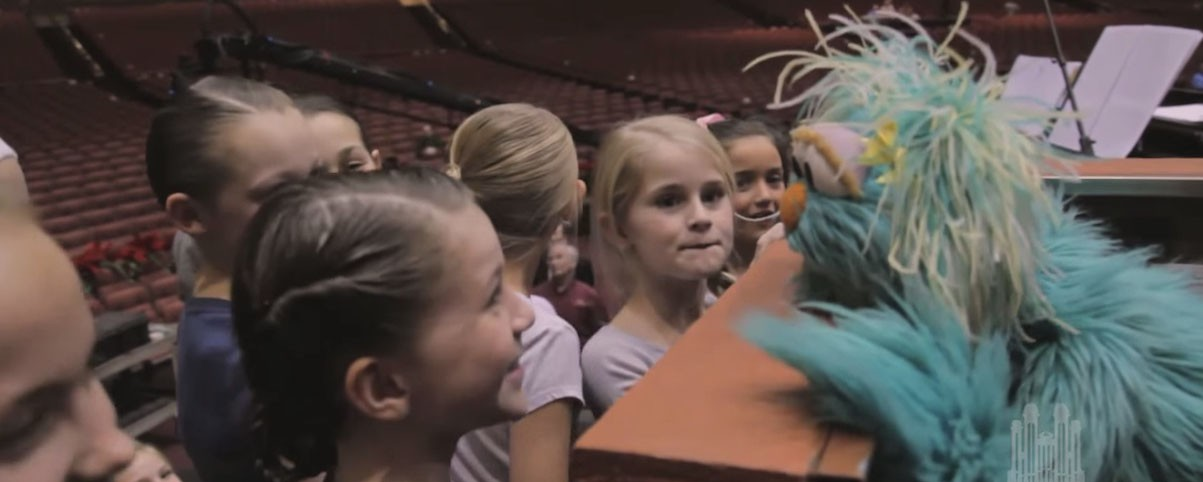 The Puppeteers from Sesame Workshop® Feel the Love from the Mormon ...