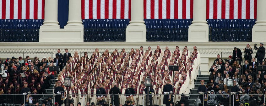 MoTab sings at 2017 Trump Inauguration