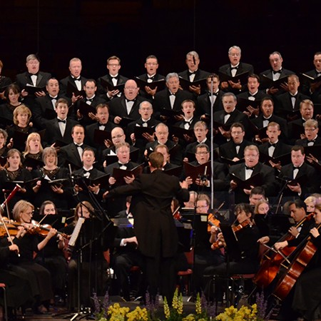 """Mozart & Mendelssohn: A Spring Concert"" by the Temple Square Chorale and Orchestra at Temple Square"