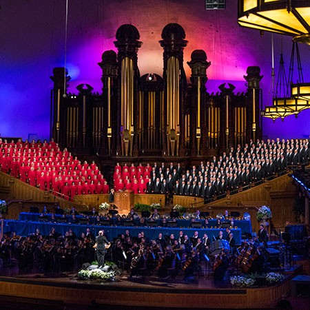 Living the Map CEO Daniel Seddiqui Sings with the Mormon Tabernacle Choir