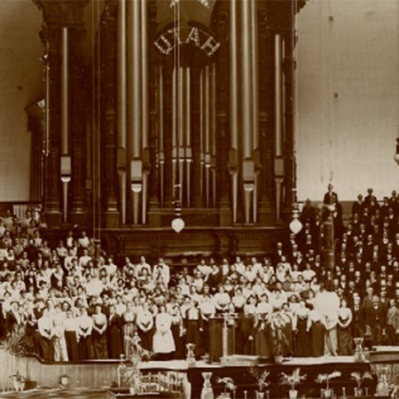 Musical Pioneers: In 1910 the Choir Was the First Large Performing Group to Have Its Music Successfully Recorded
