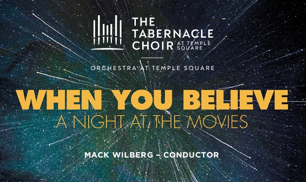 Now Available! <i>When You Believe: A Night at the Movies</i>