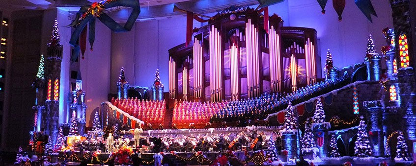 Christmas with Mormon Tabernacle Choir