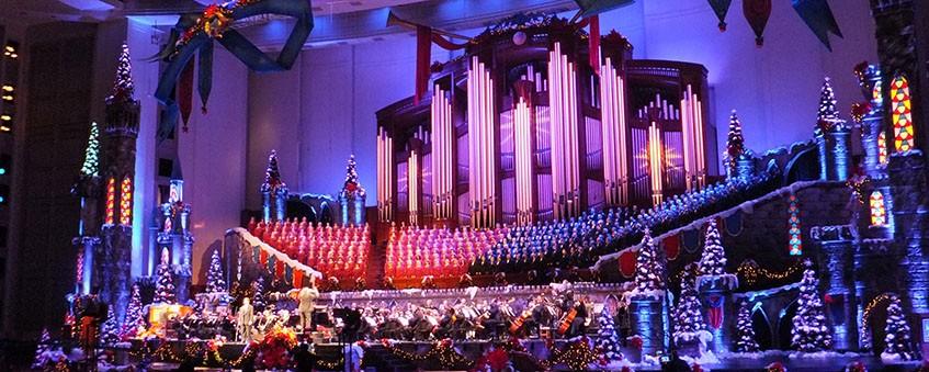 Lds Christmas Concert.Christmas With Mormon Tabernacle Choir