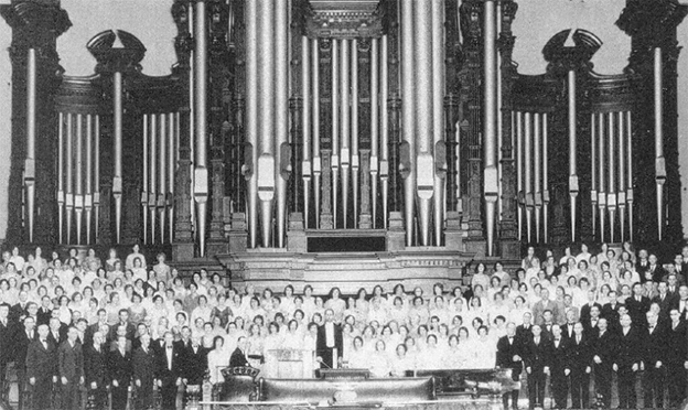 Frank W. Asper Performed Approximately 5,000 Organ Recitals for Temple Square Visitors During His 40-Year Career
