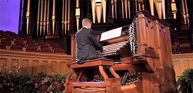 Tabernacle Organist Andrew Unsworth Discusses his Early Interest in Organ Music and More