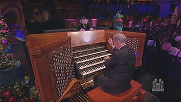 The Twelve Days of Christmas, with Count von Count (Organ Solo)