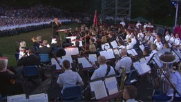 """America, the Dream Goes On,"" by John Williams - Trophy Point at West Point"