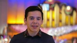 David Archuleta Reflects on Performing with the Mormon Tabernacle Choir
