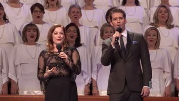 You'll Never Walk Alone, from Carousel with Laura Michelle Kelly and Matthew Morrison