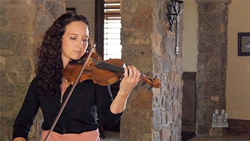 Get to Know Jenny Oaks Baker, America's Violinist