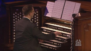 "Brian Mathias Performs His First Organ Solo - ""Finale,"" from Symphony no. 6"