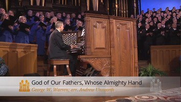 God of Our Fathers, Whose Almighty Hand (Organ Solo)